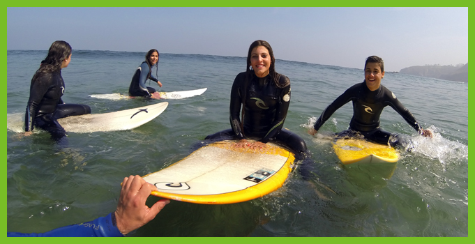 Surf - Tablas surfing day