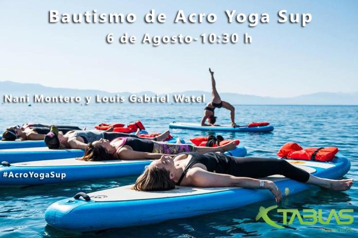 acro yoga sup